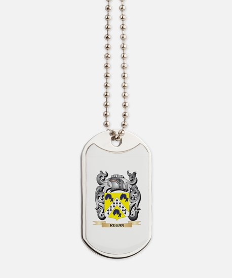 Regan Coat of Arms - Family Crest Dog Tags