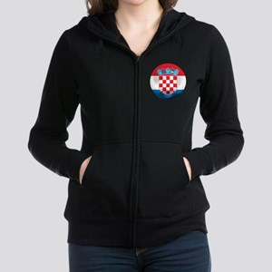 Croatia Football Women's Zip Hoodie
