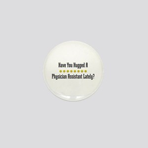 Hugged Physician Assistant Mini Button