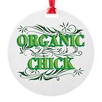 Organic Chick Ornament