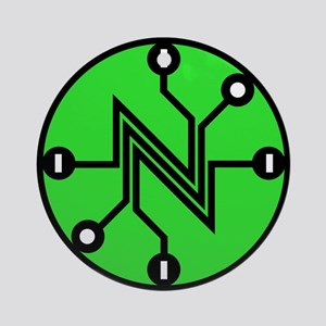 Net Neutrality Ornament (round)