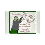I love deadlines! Rectangle Magnet (100 pack)