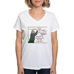 I love deadlines! Women's V-Neck T-Shirt