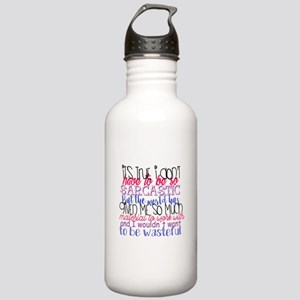 so sarcastic humor Stainless Water Bottle 1.0L