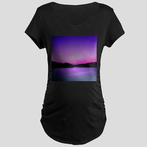 Moonrise Sunset Maternity T-Shirt