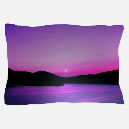 Moonrise Sunset Pillow Case