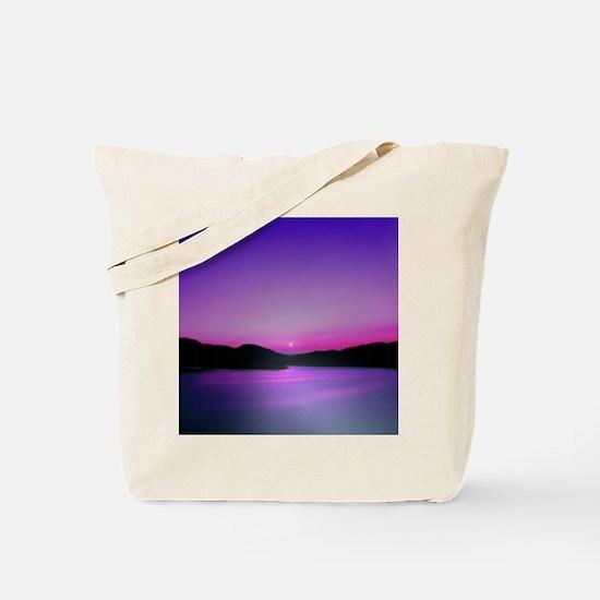 Moonrise Sunset Tote Bag