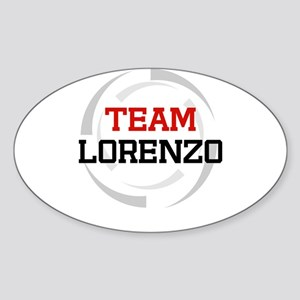 Lorenzo Oval Sticker