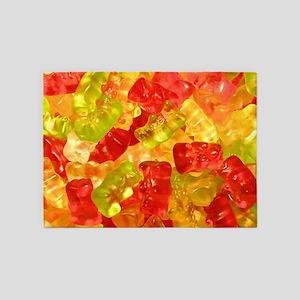 Gummi Bears 5'x7'Area Rug