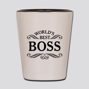 Worlds Best Boss Shot Glass