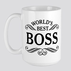 Worlds Best Boss Mugs