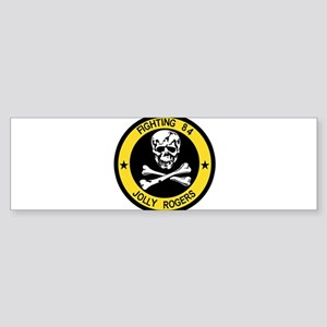 3-vf84logo Bumper Sticker