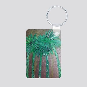 Green Palm Trees, Palm Springs Keychains