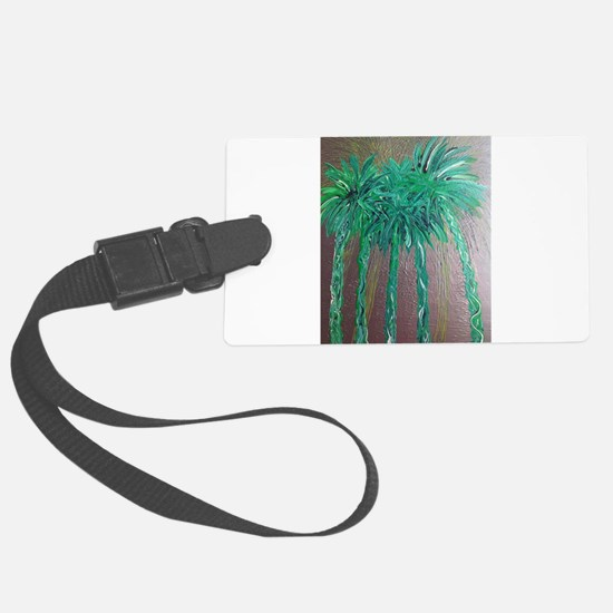 Green Palm Trees, Palm Springs Luggage Tag