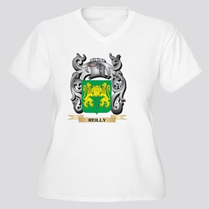 Reilly Coat of Arms - Family Cre Plus Size T-Shirt