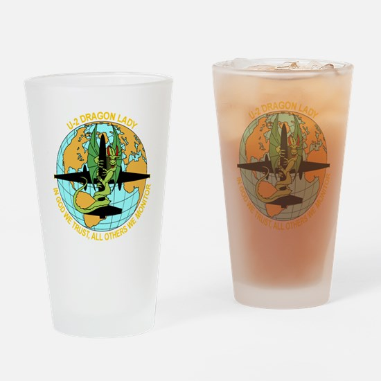Airforce Drinking Glass