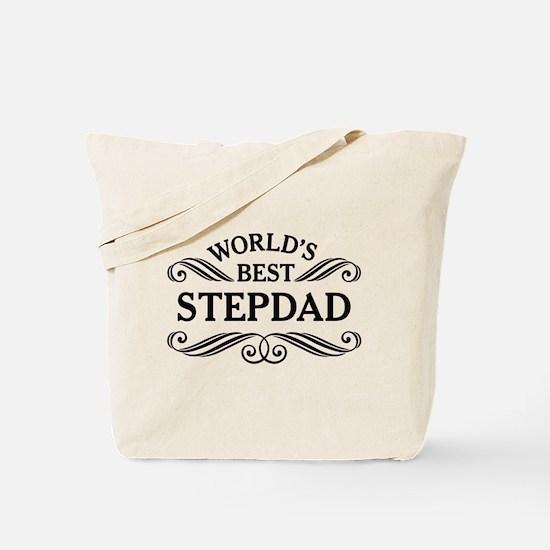 Worlds Best Stepdad Tote Bag