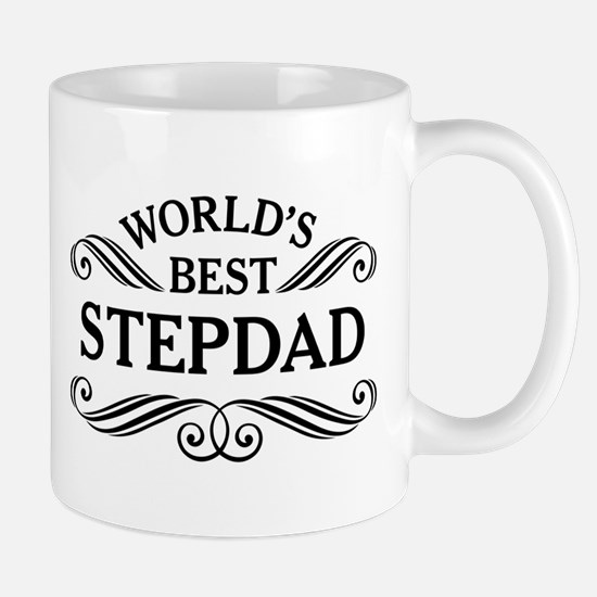 Worlds Best Stepdad Mugs