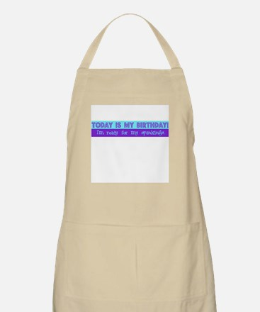 Today is my birthday BBQ Apron