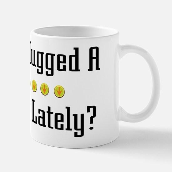 Hugged Pedicurist Mug
