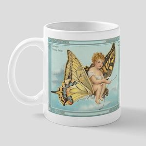 Victorian Butterfly Fairy Mug