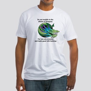 Dragon Crunchies Fitted T-Shirt