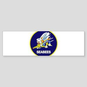 seabees_NAVY Bumper Sticker