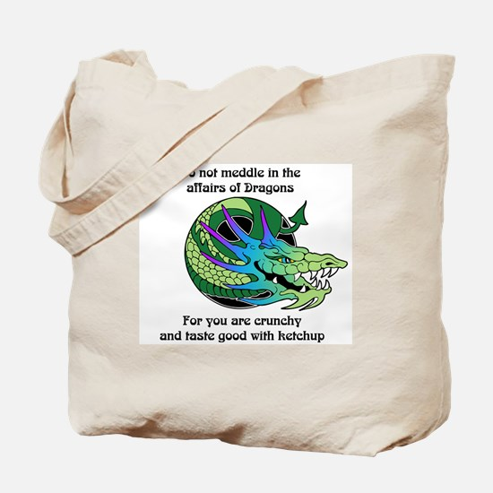 Dragon Crunchies Tote Bag