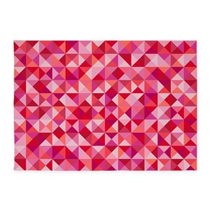 pink triangle area rugs cafepress