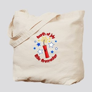 July Firecracker Tote Bag