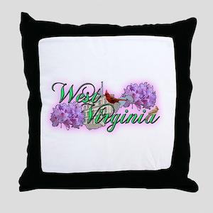 West Virginia Throw Pillow