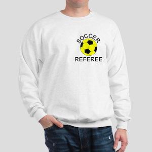 Soccer Referee Pocket Image Sweatshirt