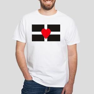 Cornish Heart and Flag T-Shirt
