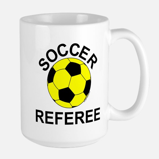 Soccer Referee Large Mug