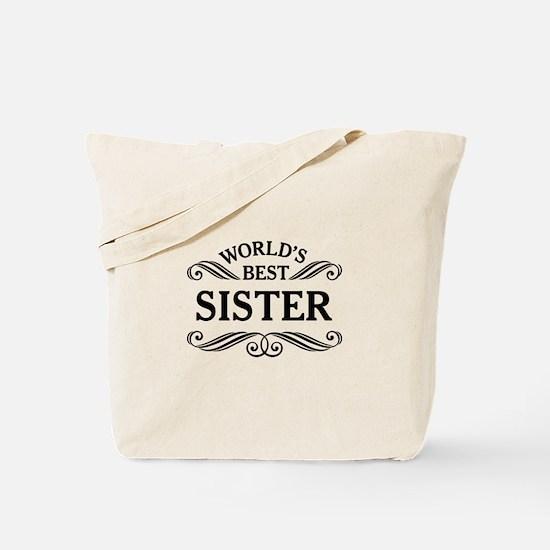 World's Best Sister Tote Bag