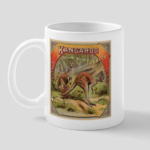 Vintage Kangaroo Label Mug