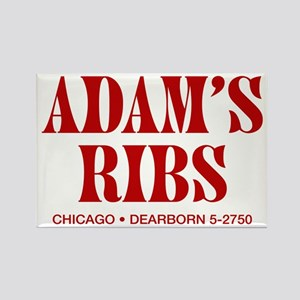 Adam's Ribs Rectangle Magnet