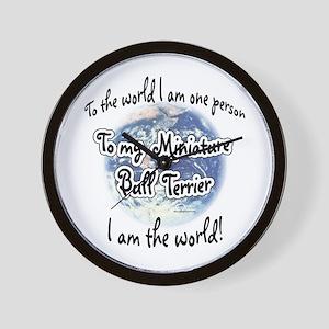 Mini Bull World2 Wall Clock