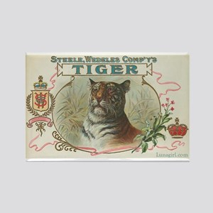 Vintage TIGER Label Rectangle Magnet