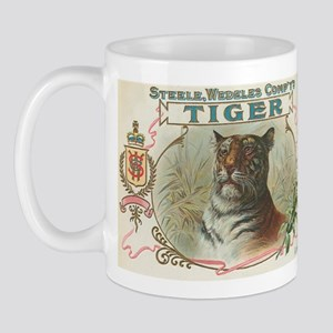 Vintage TIGER Label Mug