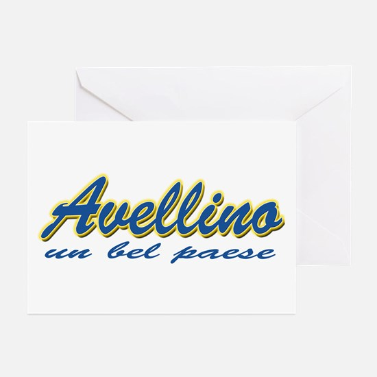 Avellino Italy Greeting Cards (Pk of 10)