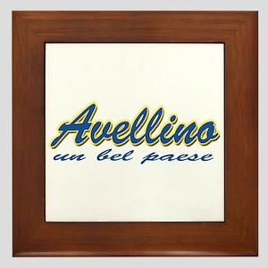 Avellino Italy Framed Tile