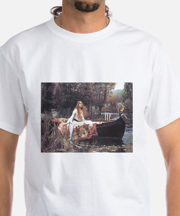 Waterhouse-The Lady of Shalott Painting Medieval m