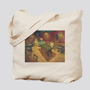 Night Cafe Van Gogh Art Tote Bag
