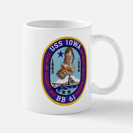 USS IOWA Mug