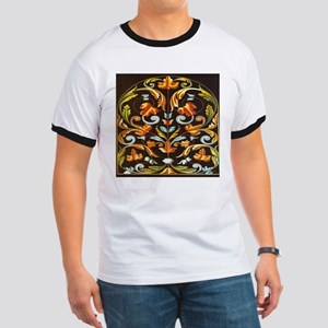 colorful vintage botanical floral pattern T-Shirt