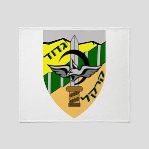 Caracal Battalion Throw Blanket