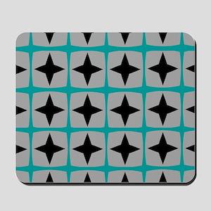 Mid-Century Stars Mousepad