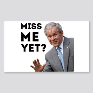 Miss Me Yet? Anti Obama Sticker