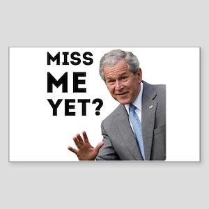 Miss Me Yet? Anti Obama Sticker